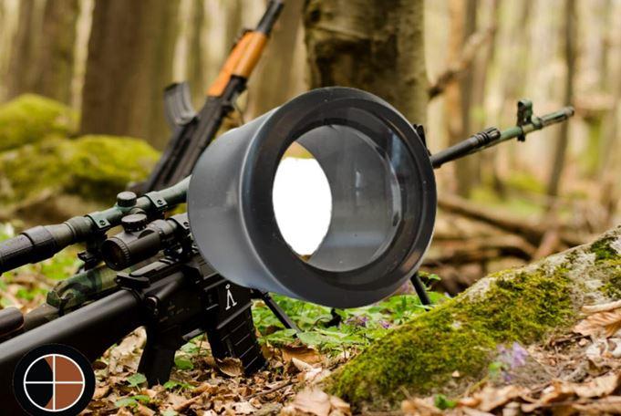rifle scope lens